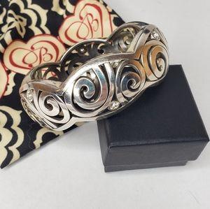 Brighton Scroll Chunky Bangle Bracelet